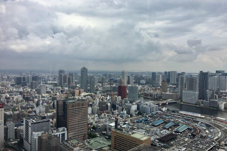 Caretta Shiodome Sky Restaurants