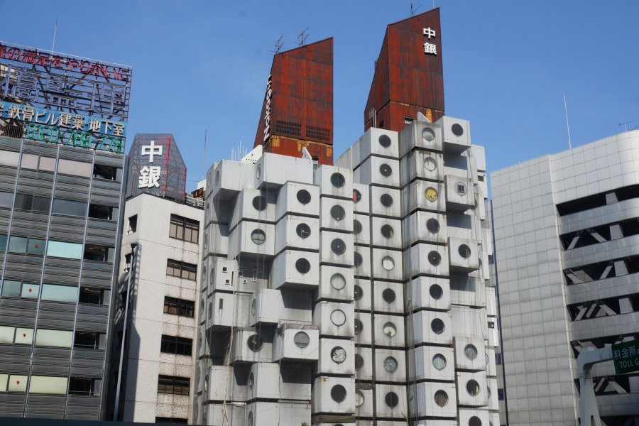 Nakagin Capsule Tower