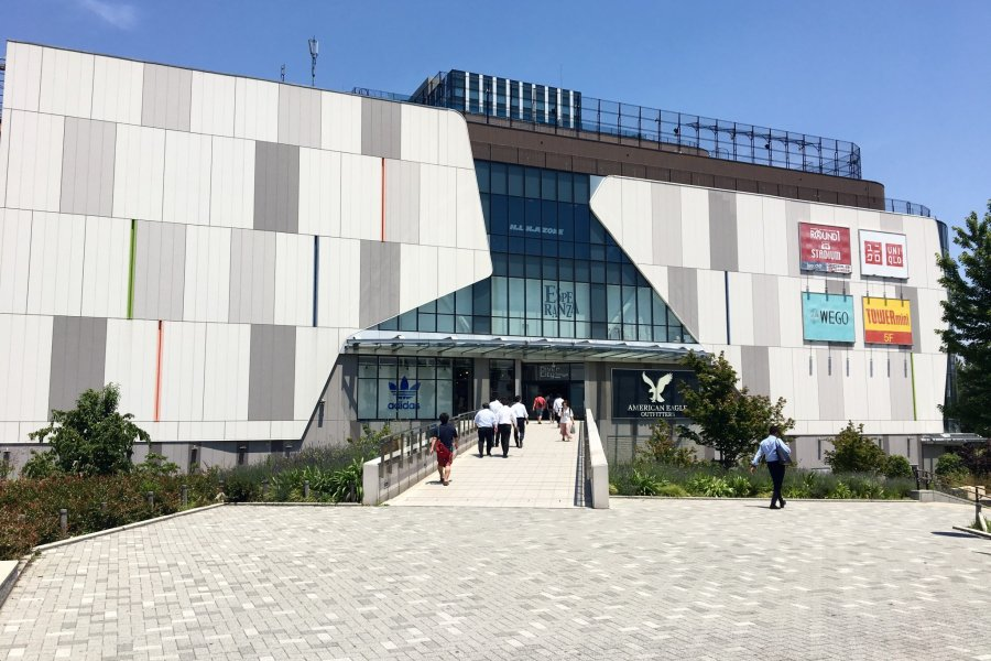 Odaiba's Diver City Tokyo Plaza