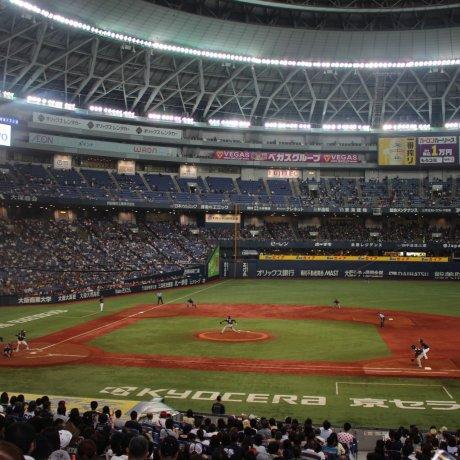 Orix Buffaloes Game at Kyocera Dome