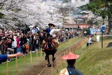 Yabusame Horse Archery Tsuwano