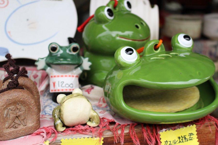 Frog Street in Matsumoto