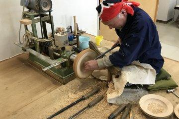 Timber Woodcraft in Shogawa, Toyama