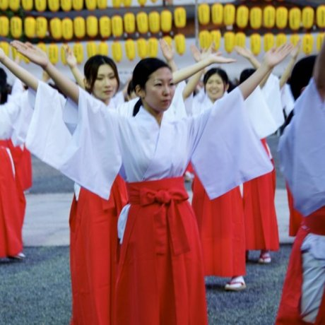 Mantou Mitama Festival in Photos