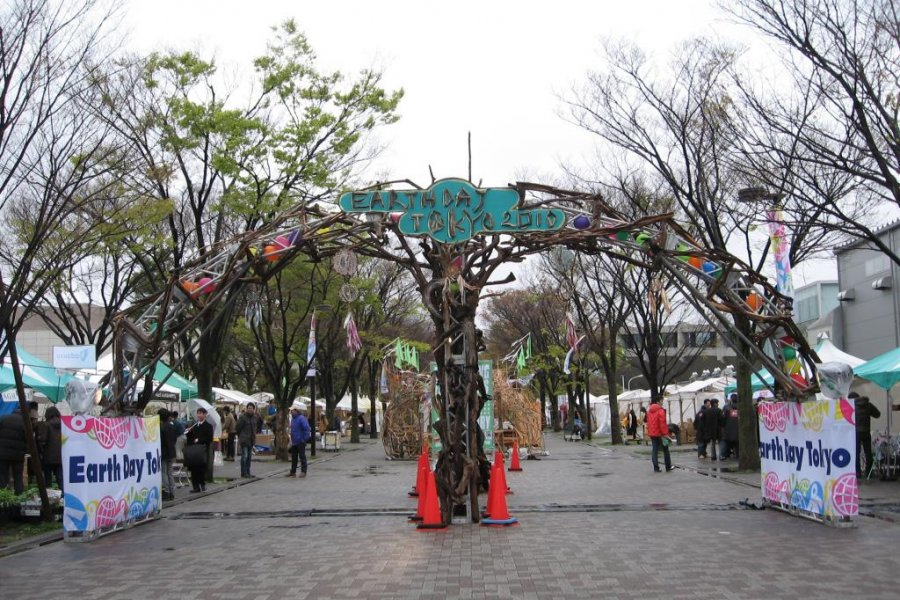 Earth Day Festival in Tokyo