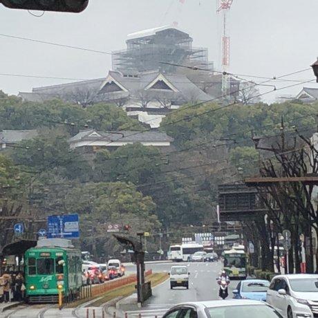Kumamoto Castle Restoration Update