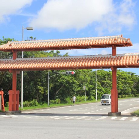 A Walk By Okinawa Athletic Stadium