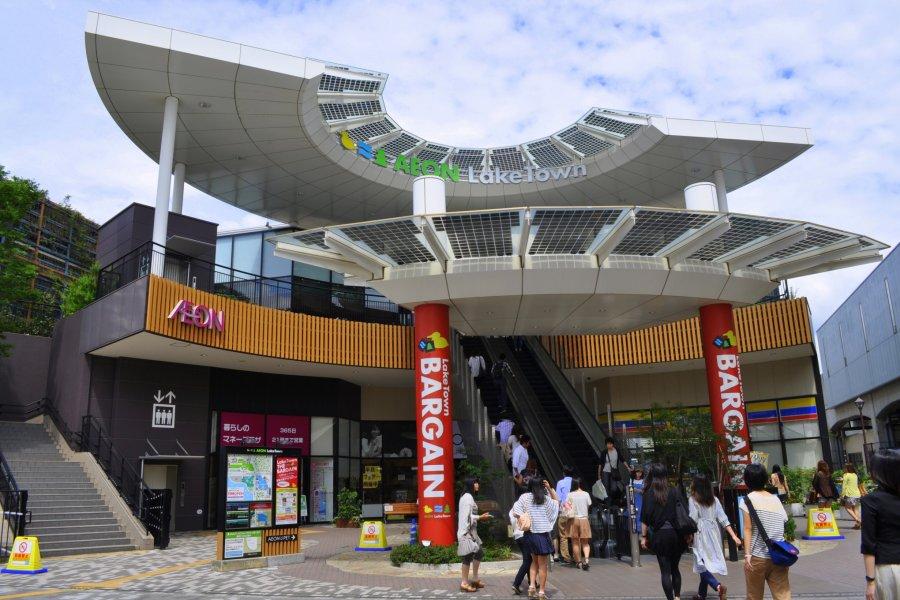 AEON LakeTown: Japan's Largest Mall