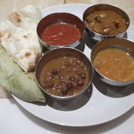 Nataraj Indian Restaurant in Ginza