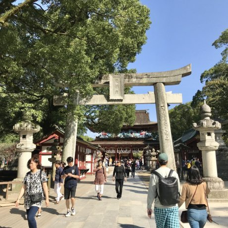 Glimpses of Dazaifu Tenmangū