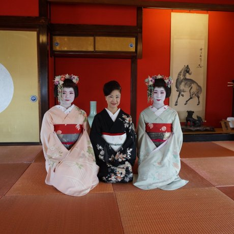 Maiko Performance in Sakata