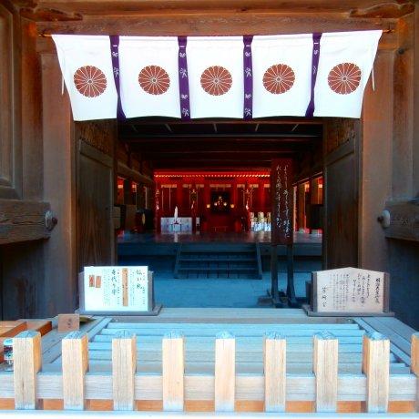 Hakozaki Shrine in Fukuoka