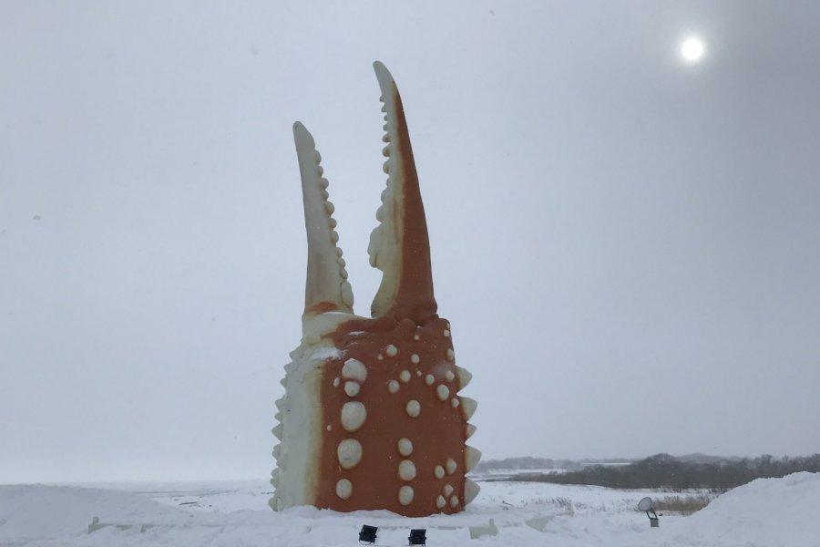 Monbetsu Crab Claw Statue