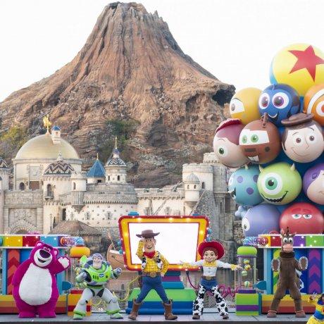 Pixar Playtime at Tokyo Disney Sea