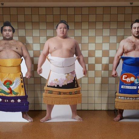 Sumo in Ryogoku