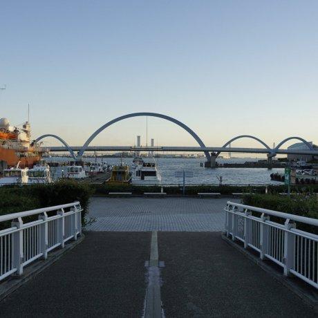 Dusk at Nagoya Port
