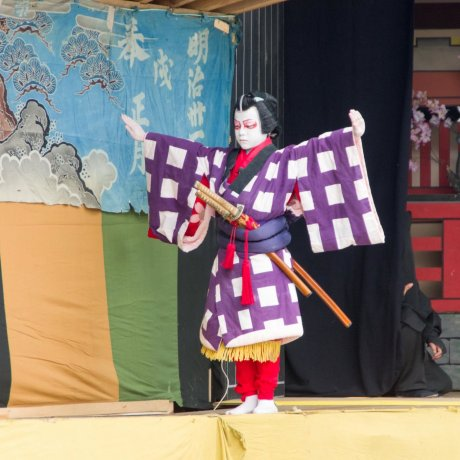 May at Kabukiza Theatre