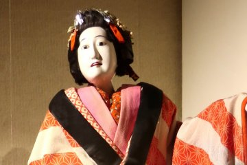 Bunraku Performance by Young Performers