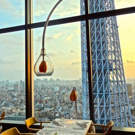 La Sora Seed Restaurant in Tokyo
