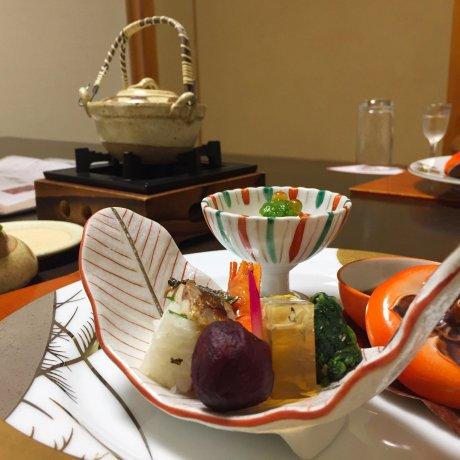 The Detail of Kaiseki Cuisine