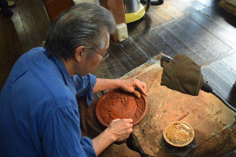 Kamakurabori Artisans at Work