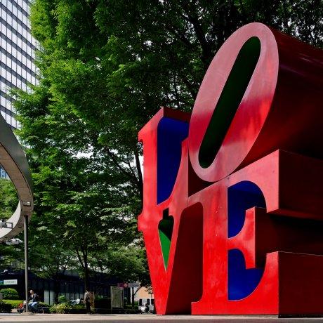 Shinjuku's LOVE Sculpture