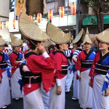 A Happy Festival in Kagurazaka