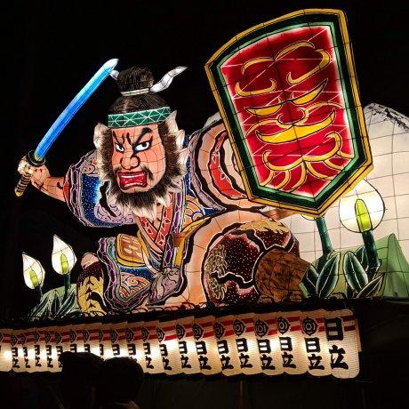 Kasama's Nebuta Festival