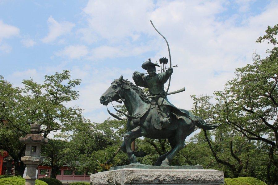 A Monument to Minamoto no Yoritomo