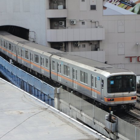 The Tokyo Metro Ginza Line