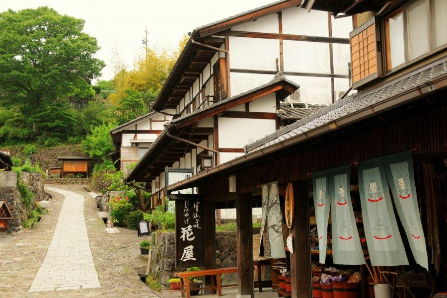Kiso Valley's Magome-juku