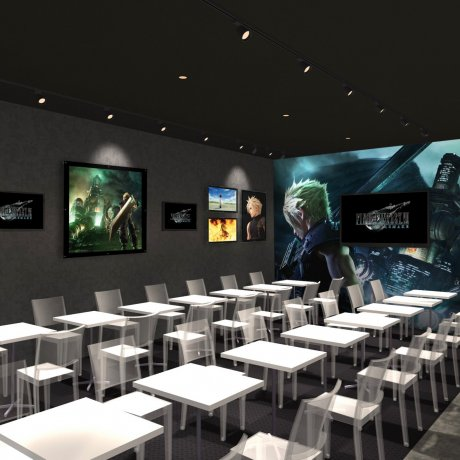 Limited-Time Final Fantasy VII Café