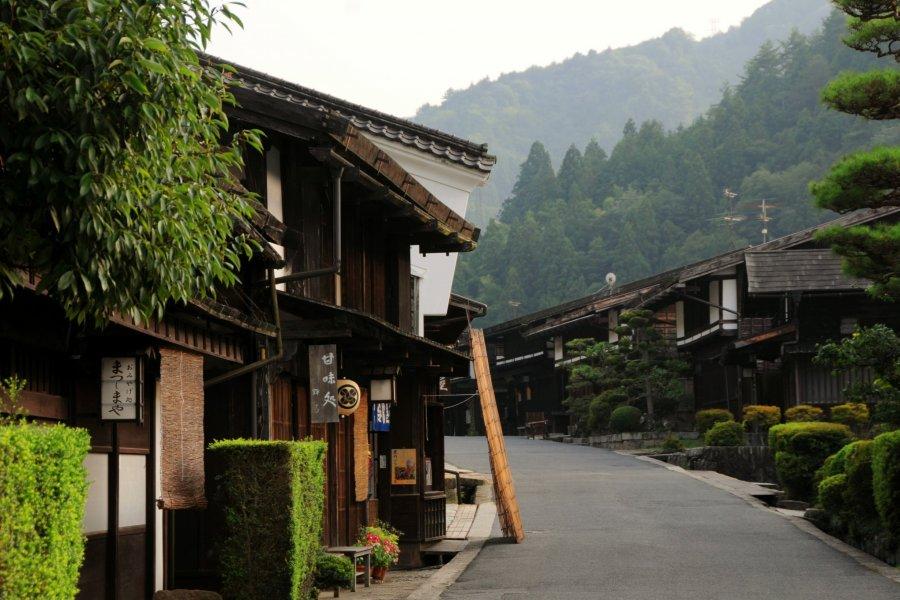 Kiso Valley's Tsumago-juku