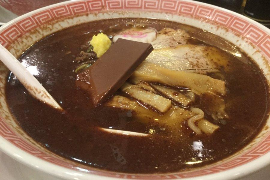 Chocolate Ramen