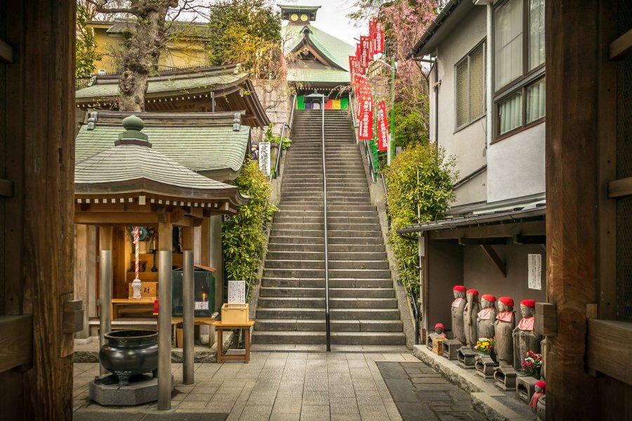 Yokohama's Gumyoji Temple