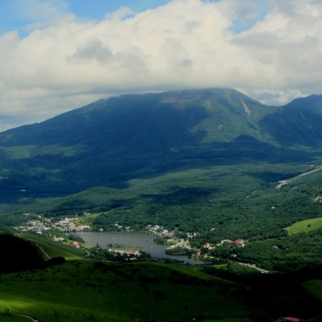 Summer at Mt. Kuruma Ski Resort