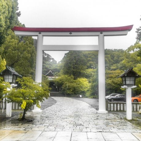 Rainy Days at Kamakuragu Shrine