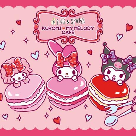 Egg & Spuma Overrun by Sanrio