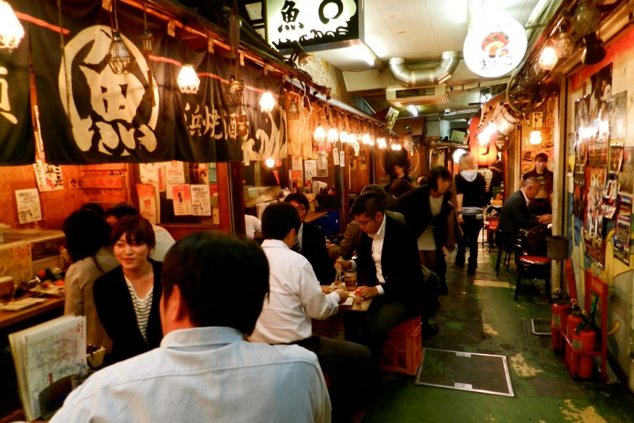 Eat with the Locals at Ebisu Yokocho