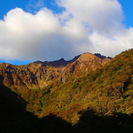Fall Colors of Tanigawadake
