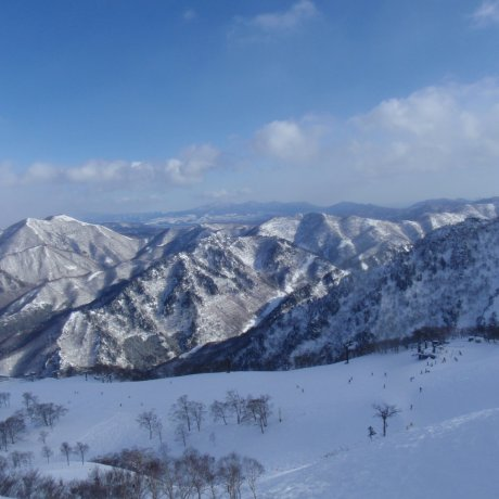 Views of Naeba Ski Resort