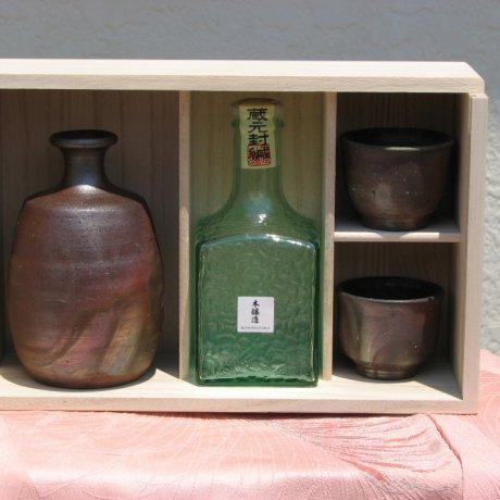 Bizenyaki and Japanese Sake