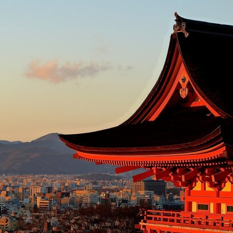 Great Sunset from Kiyomizu-dera