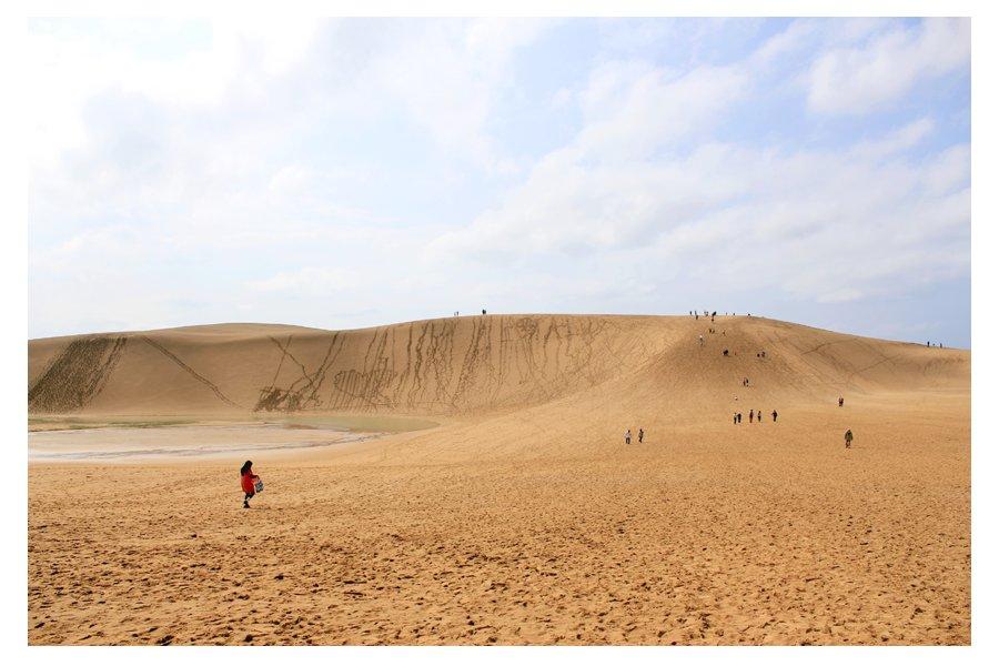 Witness Where Sand Meets Sky: Tottori's Sand Dunes
