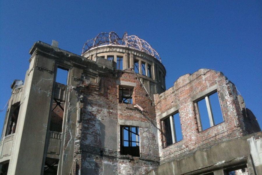 Hiroshima Peace Memorial: A-Bomb Dome