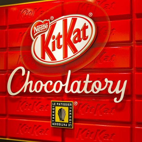 KitKat Chocolatory in Tokyo