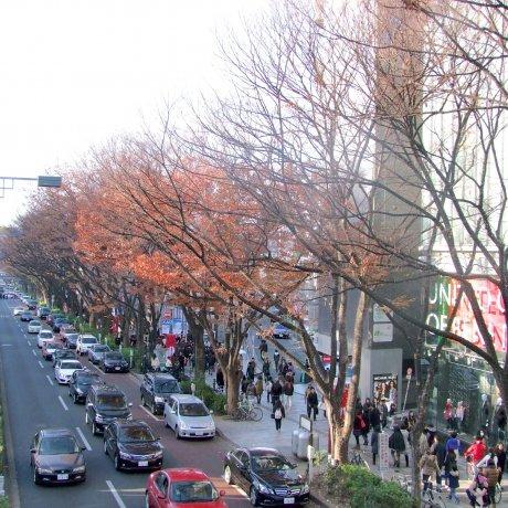 Free Wi-Fi in Upscale Tokyo District