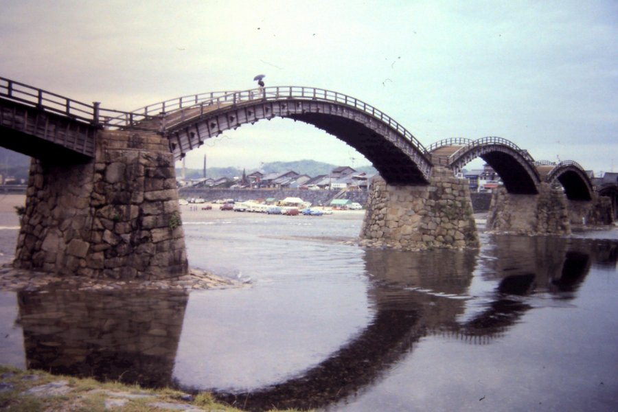 Kintai Bridge in Yamaguchi
