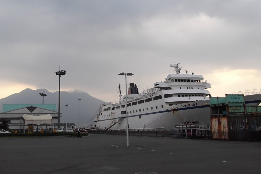 The Kagoshima-Yakushima Ferry