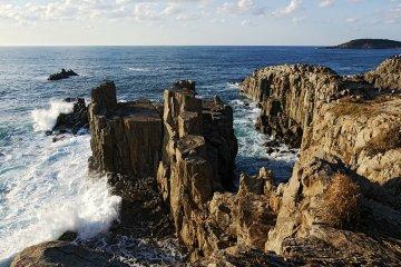 Tojinbo Cliffs
